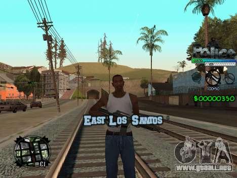 C-HUD by Powwer para GTA San Andreas