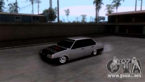VAZ 21099 БПАN para GTA San Andreas vista posterior izquierda