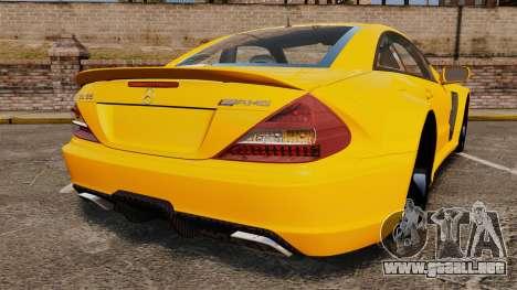 Mercedes-Benz SL65 AMG para GTA 4 Vista posterior izquierda