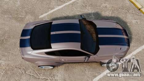 Ford Mustang 2015 Rocket Bunny TKF v2.0 para GTA 4 visión correcta