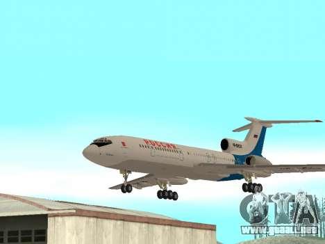Tu-154 B-2 SCC de Rusia para GTA San Andreas