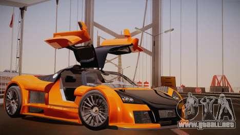 Gumpert Apollo Sport V10 para GTA San Andreas left