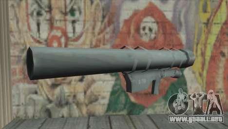 Lanzador de cohetes para GTA San Andreas segunda pantalla