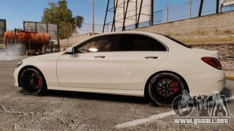 Mercedes-Benz C-Class (W205) AMG 2014 para GTA 4 left