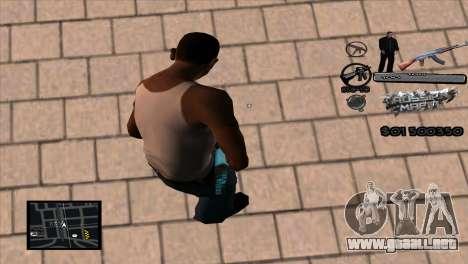 C-HUD Russian Mafia by Luigie para GTA San Andreas segunda pantalla