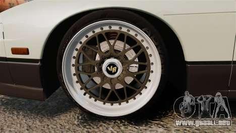 Nissan Onevia S13 [EPM] para GTA 4 vista hacia atrás