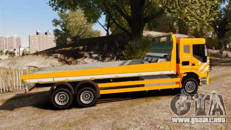 Iveco Stralis RAC para GTA 4 left