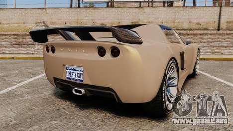 GTA V Coil Voltic para GTA 4 Vista posterior izquierda