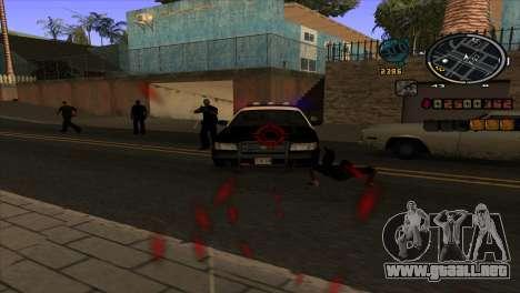 Noticias de C-HUD para GTA San Andreas tercera pantalla