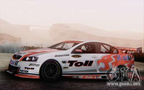 Holden Commodore para visión interna GTA San Andreas