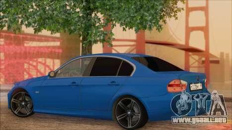 BMW 330i para GTA San Andreas left