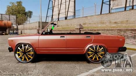 VAZ-2107 Donk Estilo para GTA 4 left
