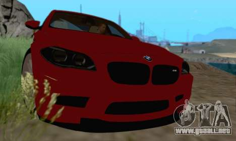 BMW M5 F10 v1.1 para GTA San Andreas left
