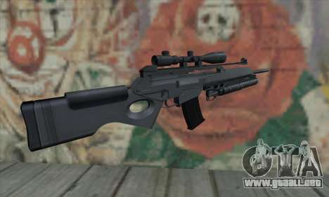 SG550 para GTA San Andreas segunda pantalla