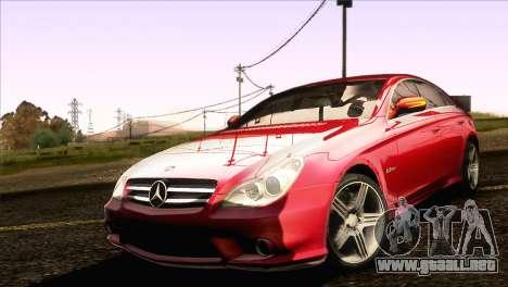 Mercedes-Benz CLS 63 AMG 2008 para GTA San Andreas left