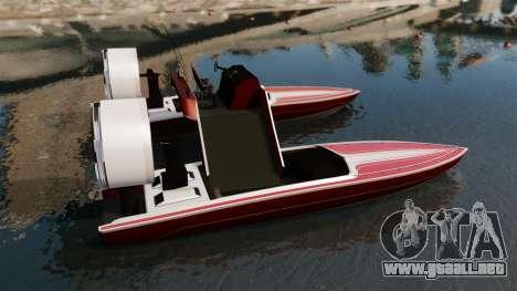 Catamarán-Jetmax Aero- para GTA 4 left