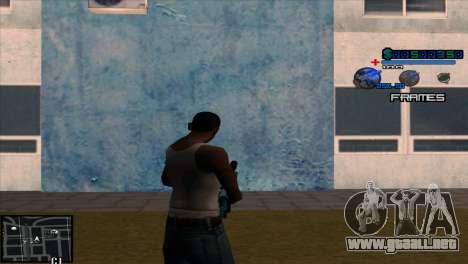 C-Hud Niko para GTA San Andreas segunda pantalla