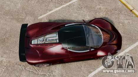 GTA V Grotti Turismo R v2.0 para GTA 4 visión correcta