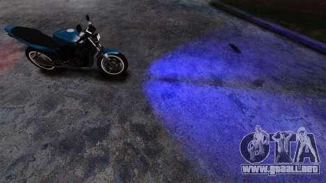 Azul faros para GTA 4 segundos de pantalla
