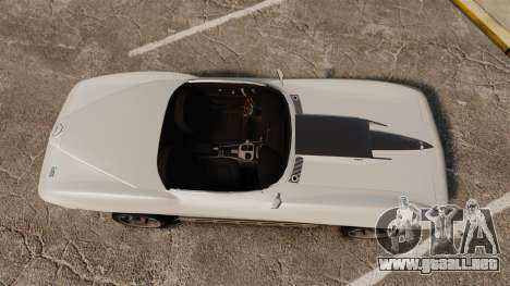 Chevrolet Corvette Stingray para GTA 4 visión correcta