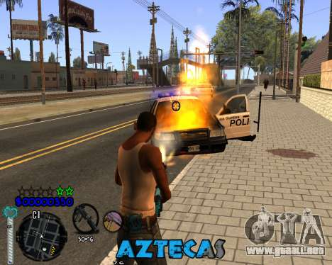 C-Hud by Abelardo para GTA San Andreas tercera pantalla