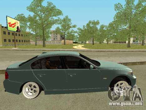 BMW M3 E90 para GTA San Andreas left
