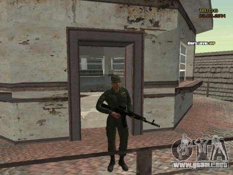 El ejército ruso moderno para GTA San Andreas octavo de pantalla