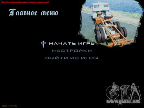 Inicio pantallas Soviética Camiones para GTA San Andreas sexta pantalla