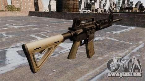 Automático carabina M4 Chris Costa para GTA 4 segundos de pantalla