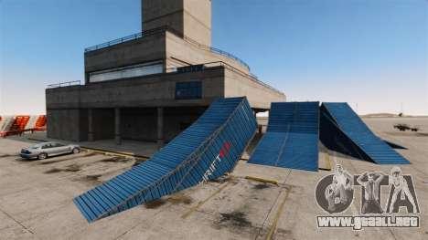 Truco-estacionar en el aeropuerto para GTA 4 quinta pantalla