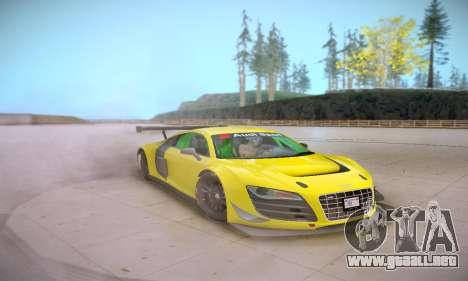 Audi R8 LMS Ultra v1.0.0 para visión interna GTA San Andreas