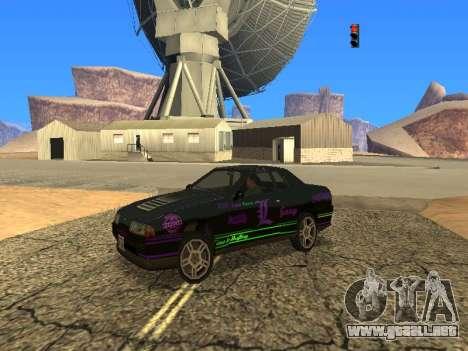 Equipo de Luni vinilos para Elegy para GTA San Andreas
