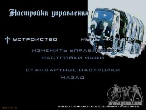 Inicio pantallas Soviética Camiones para GTA San Andreas novena de pantalla