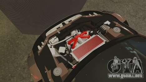 Audi A4 2008 Touring car para GTA 4 vista interior
