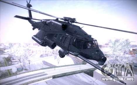 MH-X Silenthawk para GTA San Andreas