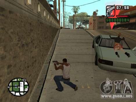 La salsa de tomate en el capó para GTA San Andreas tercera pantalla