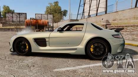 Mercedes-Benz SLS 2014 AMG Black Series para GTA 4 left