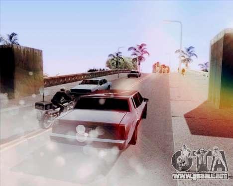 ENB HD CUDA 2014 v.3.5 Final para GTA San Andreas sucesivamente de pantalla