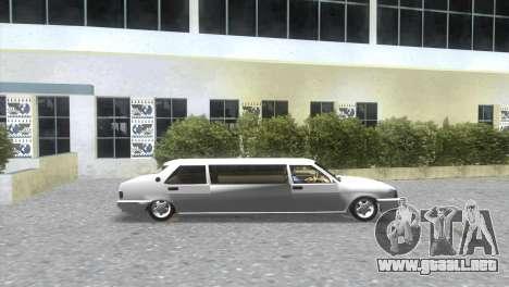 Tofaş-servicio de limusina para GTA Vice City vista lateral izquierdo