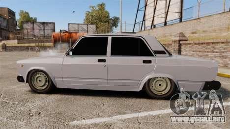 El USO de-Lada 2107 para GTA 4 left