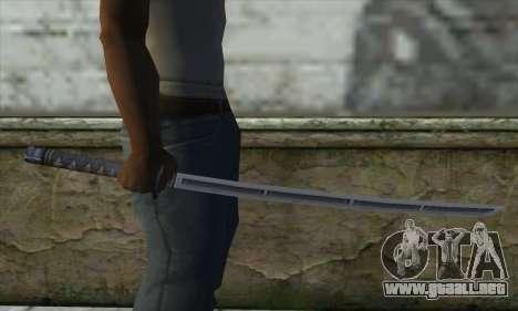 Espada para GTA San Andreas tercera pantalla