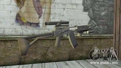 M21S para GTA San Andreas segunda pantalla