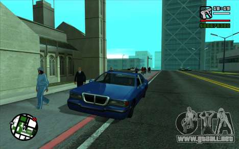 Cleaning bugs developers ENBseries para GTA San Andreas tercera pantalla