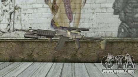 M21S para GTA San Andreas tercera pantalla