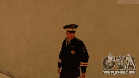 Pieles de la policía y el ejército para GTA San Andreas undécima de pantalla