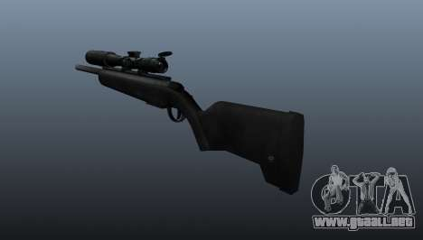 El rifle Steyr Scout para GTA 4 segundos de pantalla