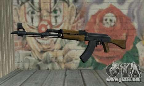 AK47 de L4D para GTA San Andreas