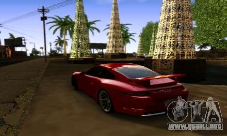 ENBSeries Exflection para GTA San Andreas segunda pantalla
