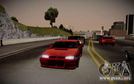ENBSeries débil para PC para GTA San Andreas segunda pantalla