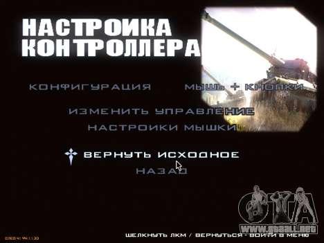 Menú de World of Tanks para GTA San Andreas séptima pantalla
